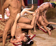 BRAZZERS LIVE 15: THREE LITTLE PIGS - Candy Manson - Dana DeArmond - Amy Brooke - Veronica Avluv - 3