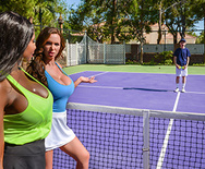 Game, Set, Match Pussy - Nikki Benz - Diamond Jackson - 1